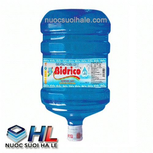 Nước tinh khiết Bidrico 19l