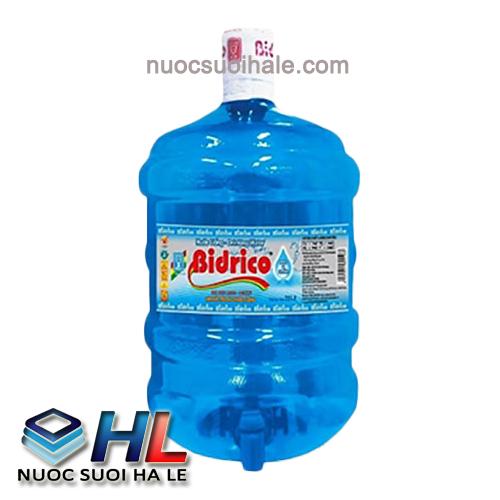 Nước Tinh Khiết Bidrico 19 lít ( vòi)