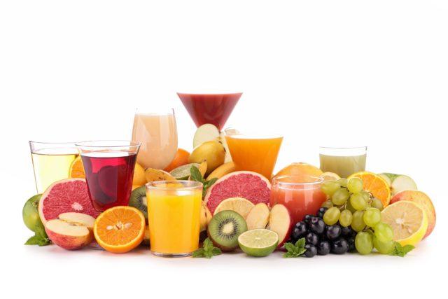 nước ép trái cây nguyên chất